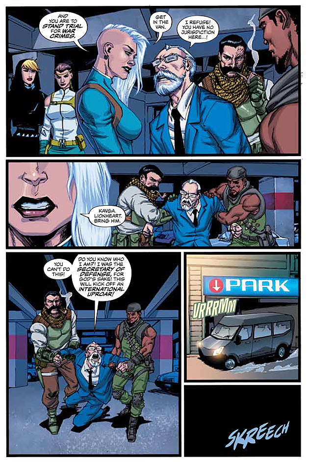 Suicide Squad: War Crimes, DC Comics