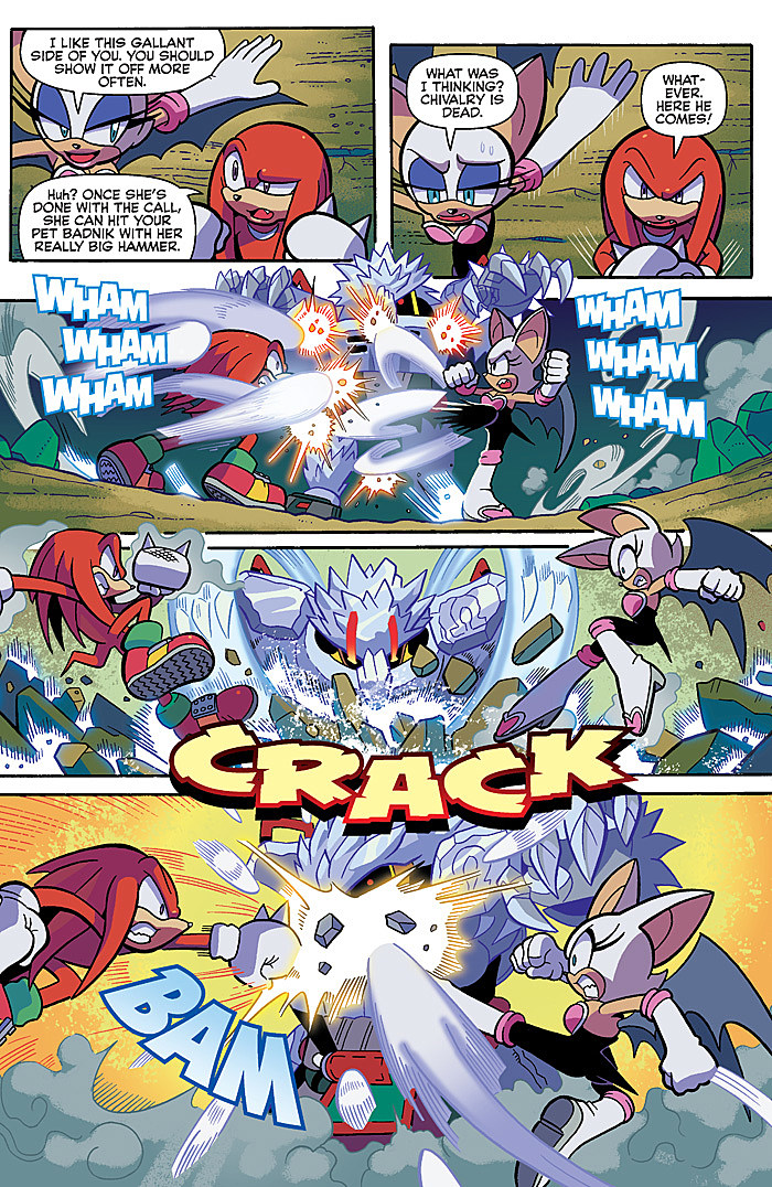 Comic Previews: Sonic the Hedgehog #286, Sonic Universe #89 and ...
