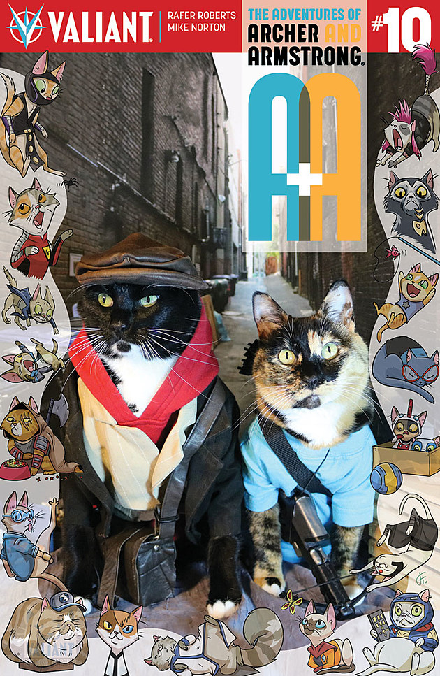 A&A #10 Cat Cosplay Variant