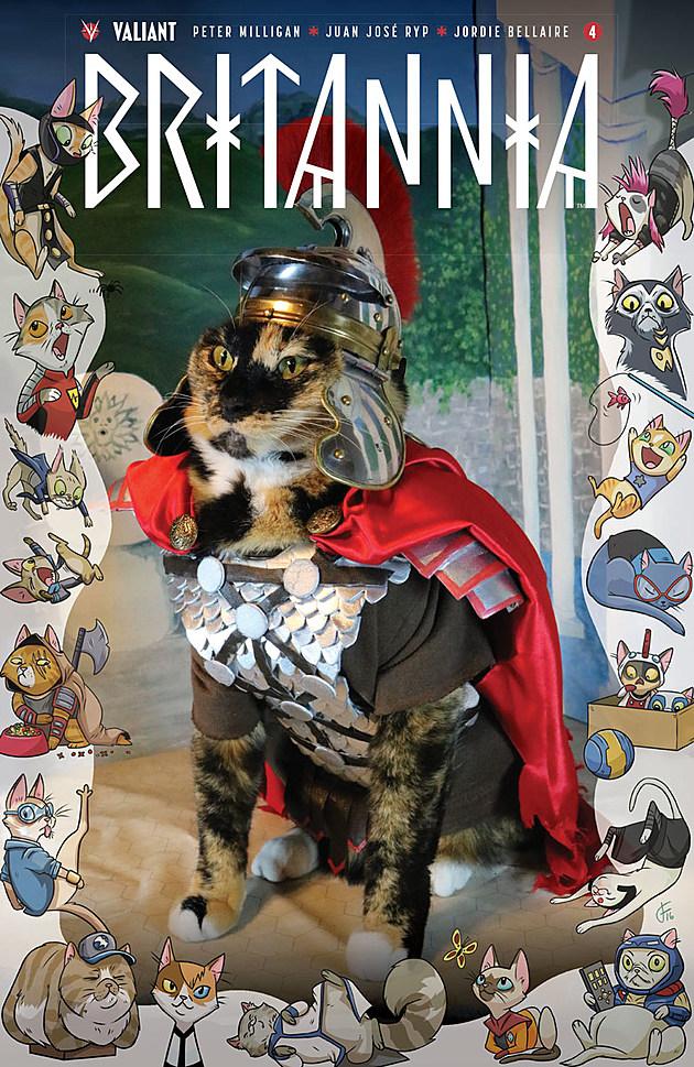 Britannia #4 Cat Cosplay Variant