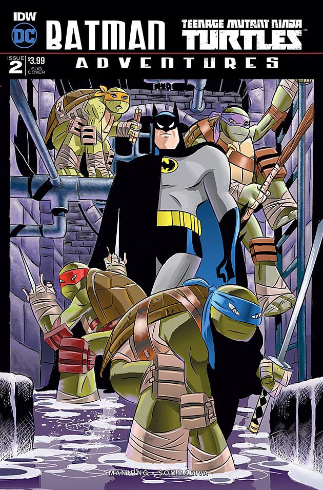 Batman/TMNT #2