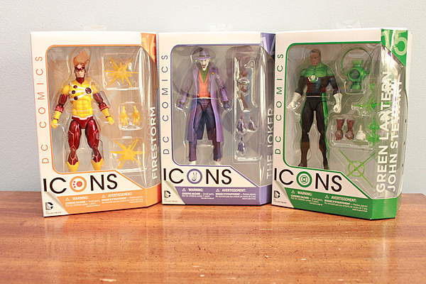 DC Icons Figures Bring Out the Best in DC Comics History