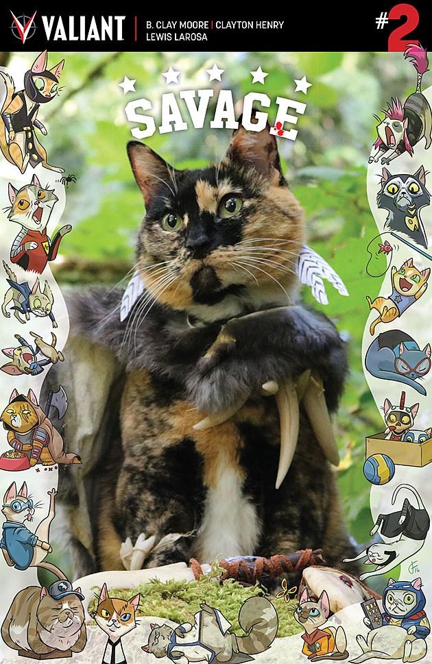 Savage #2 Cat Cosplay variant