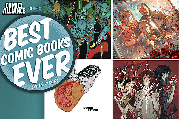 New Comic Book Releases For September 14 2016