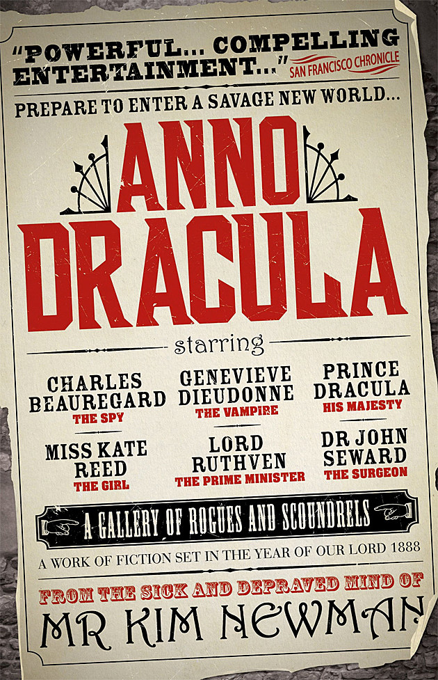 Anno Dracula novel cover
