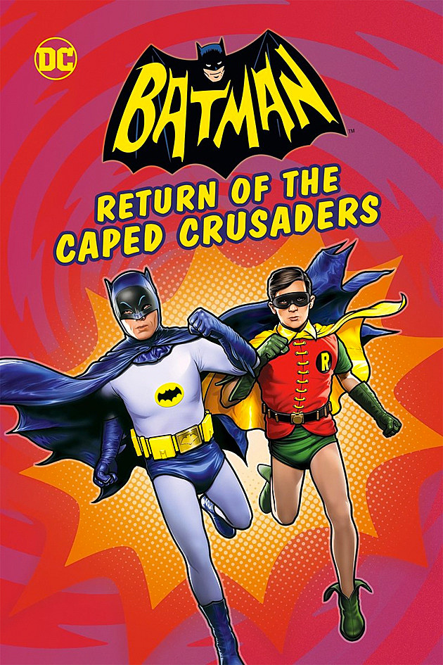 magazine review caped crusader Dc launched a batman 66 comic book a few years back that has been reviving fan dreams ever since this animated feature isn't exactly a direct adaptation of the comic, but by virtue of just how obsessively the batman: return of the caped crusader sticks to the classic formula it might as well be giant props, absurd bat devices (including anti-bat-antidote, because why not), on screen onomatopoeia, endless cliffhangers, mountains of camp, and of course plenty of hilarity.
