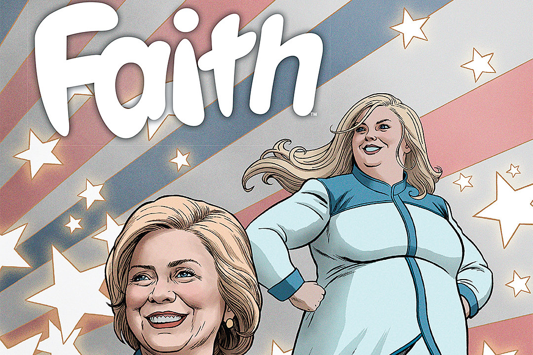 I'm With Her: A First Look At 'Faith' #5, Guest Starring Hillary Clinton [Preview]