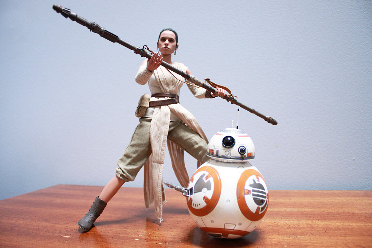 Rey Star Wars Toys : Rey and bb are the best hot toys star wars figures yet