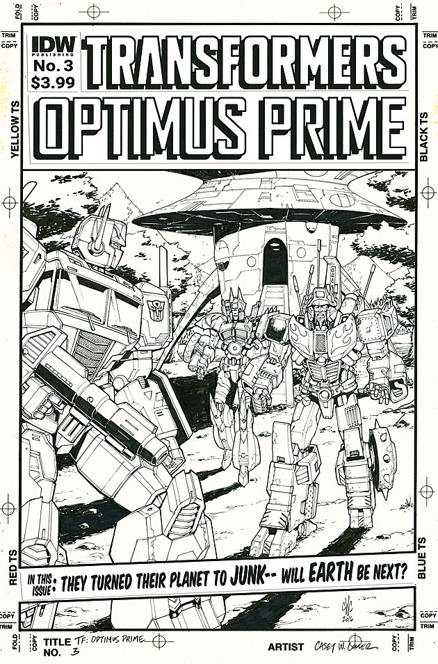 Optimus Prime #3, IDW