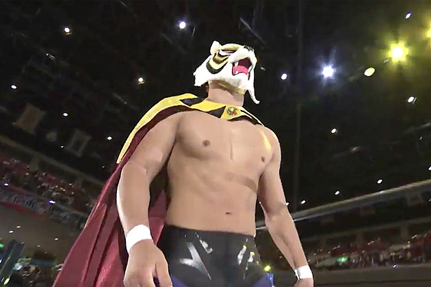 Tiger Mask W, via New Japan Pro Wrestling