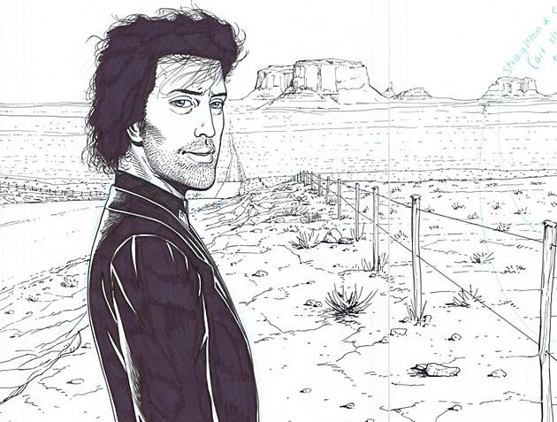 'Preacher' art by Steve Dillon.