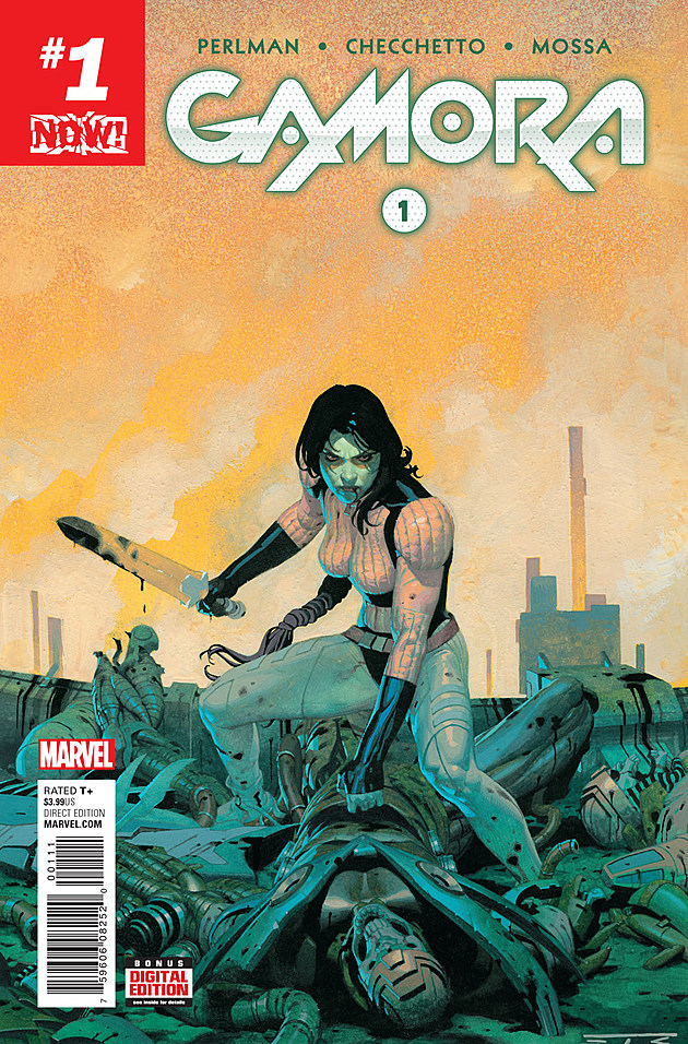 Cover by Esad Ribic