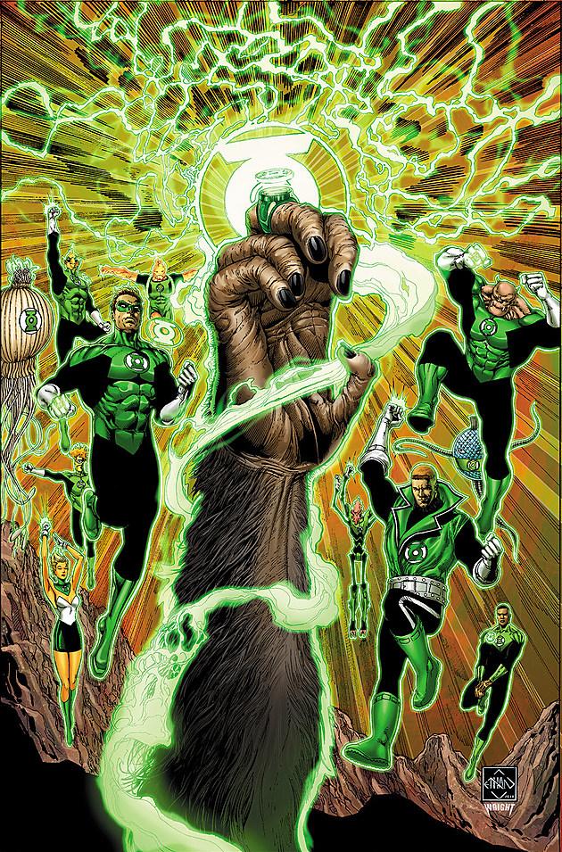 Ethan Van Sciver.  Créditos de imagem: DC Comics