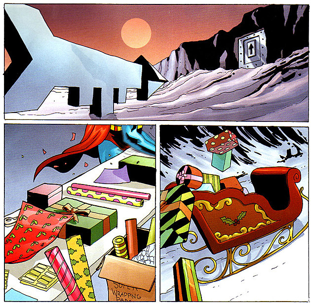 DC Infinite Holiday Special, art by Pete Woods