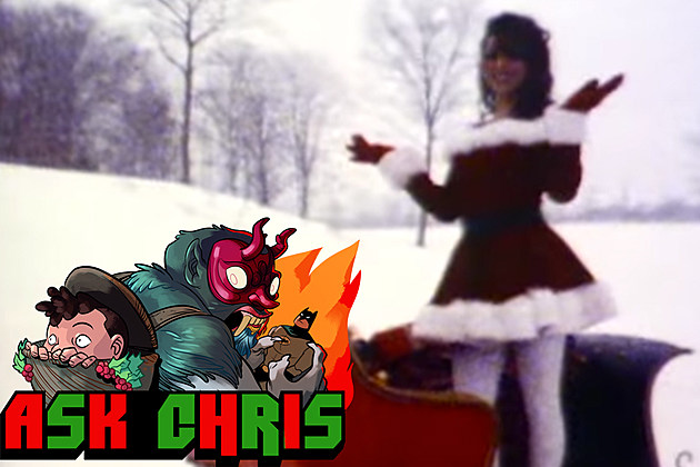 """Ask Chris #320, background image from """"All I Want For Christmas Is You"""""""