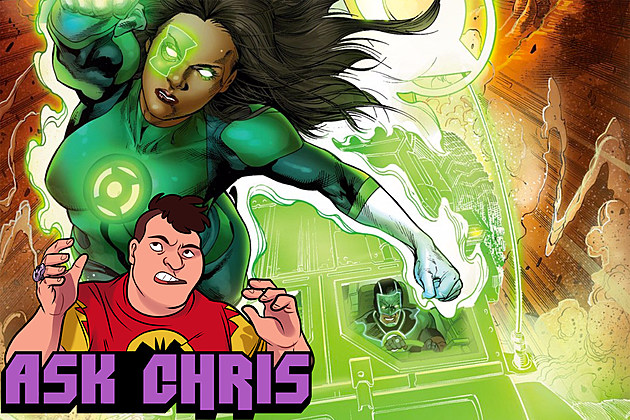 Ask Chris #321, background art by Robson Rocha, Jay Leisten, and Rod Reis