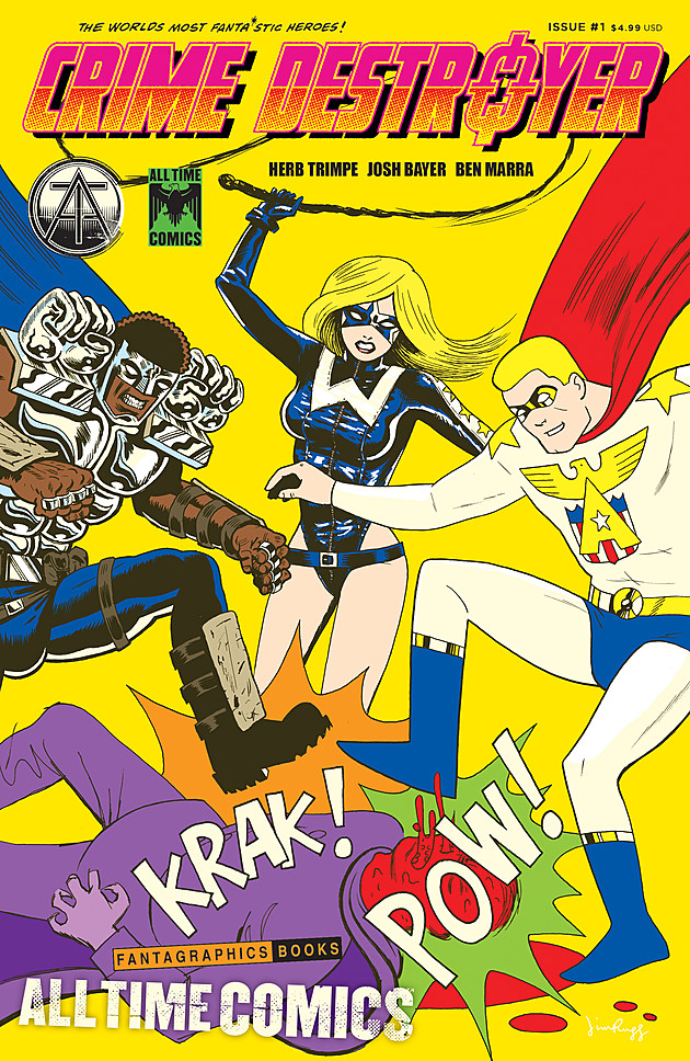 Cover by Jim Rugg