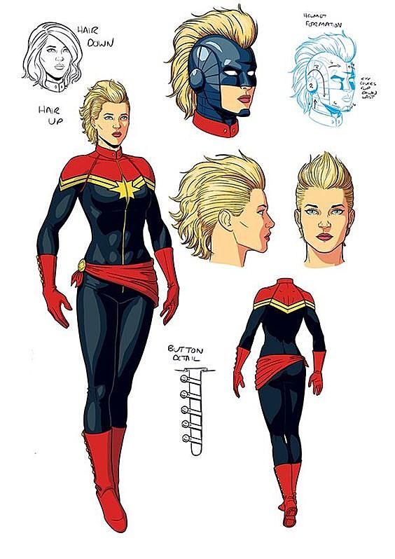 captain marvel comic hero - photo #16
