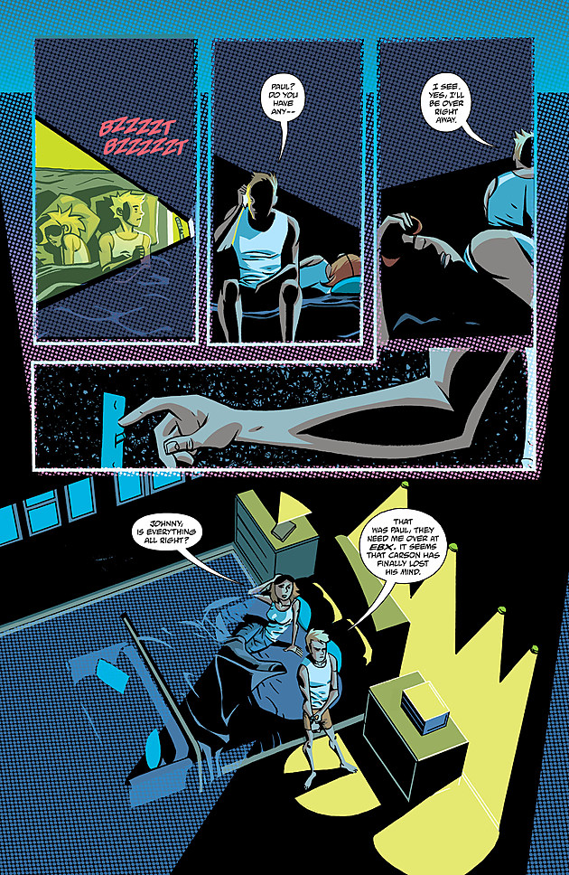Arte por Michael Avon Oeming