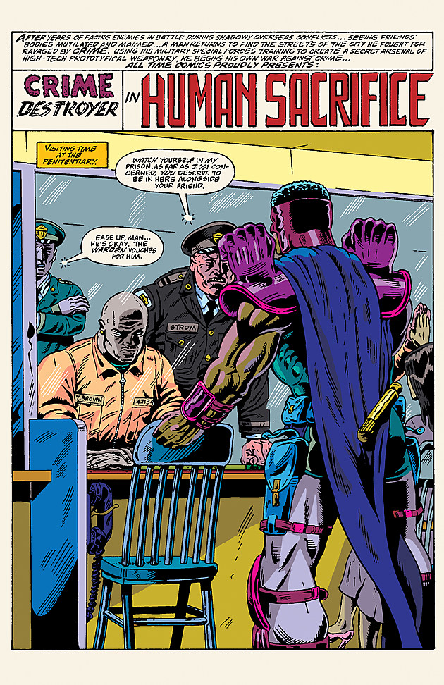 Art by Herb Trimpe and Ben Marra