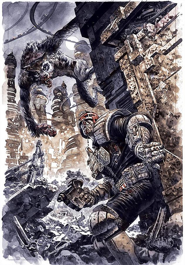 Cry of the Werewolf art by Duncan Fegredo