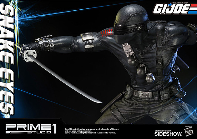 Snake Eyes statue by Prime 1 Studios and Sideshow