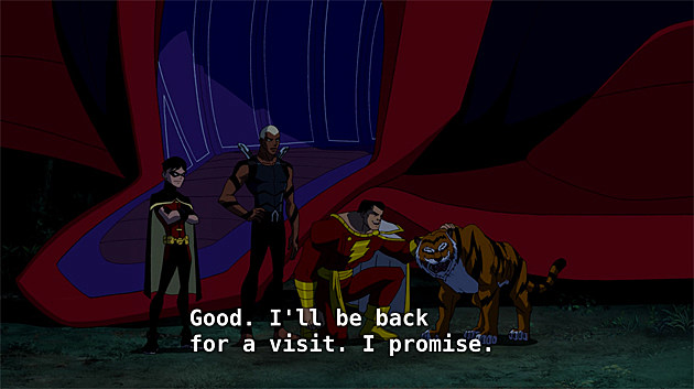 Young Justice Episode 13: Alpha Male