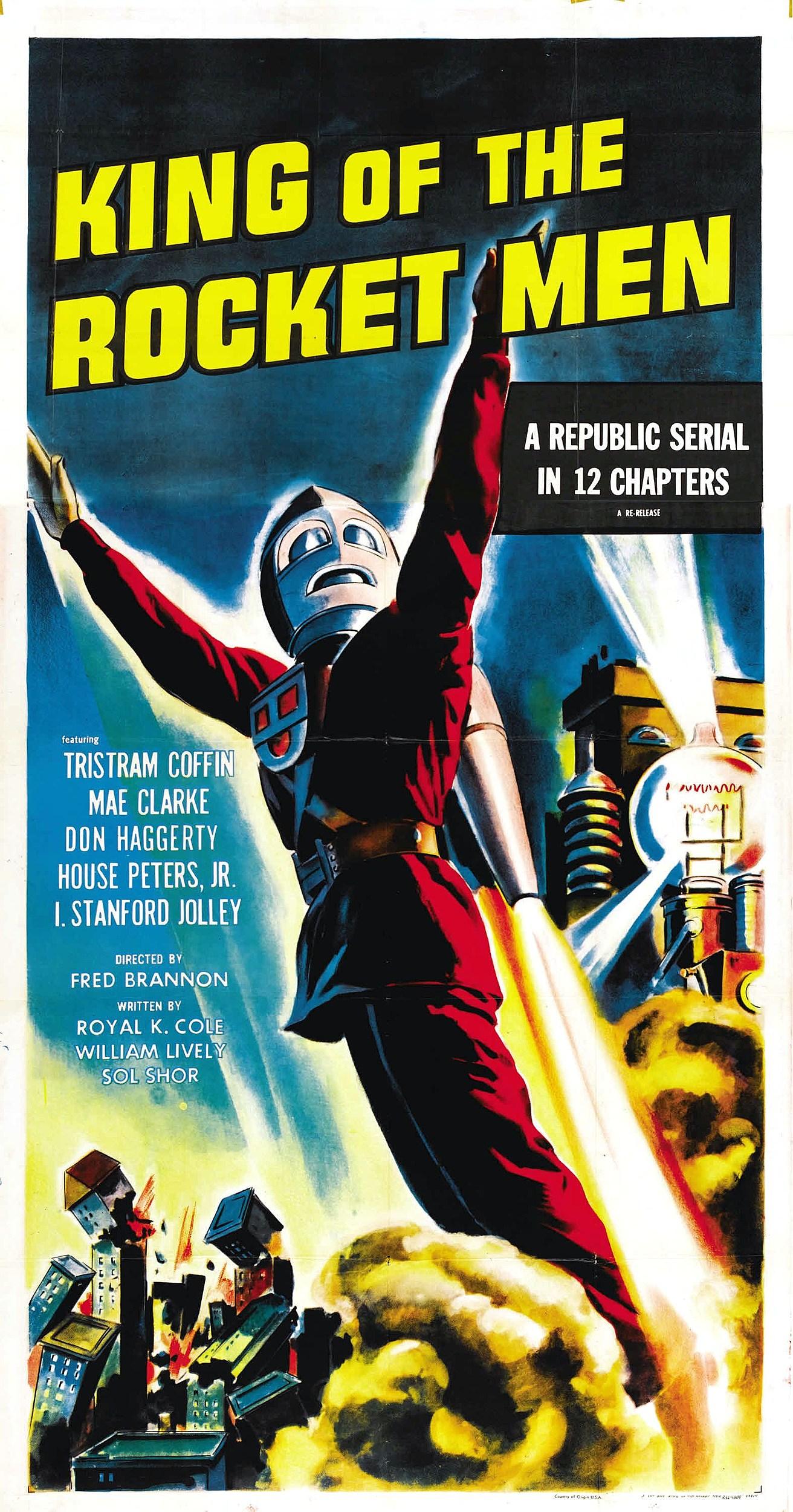 Rocket Man Comic