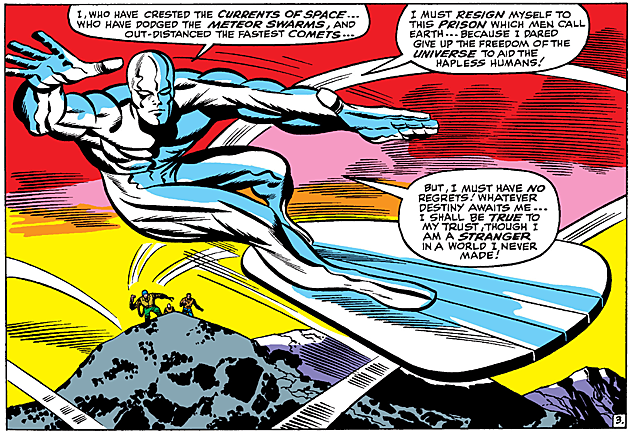riding the waves of the cosmos a tribute to the silver surfer