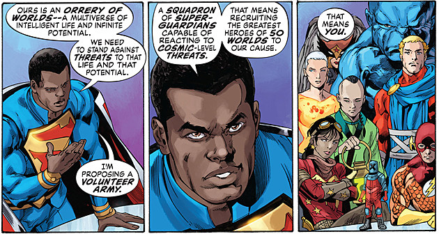 Multiversity, DC Comics