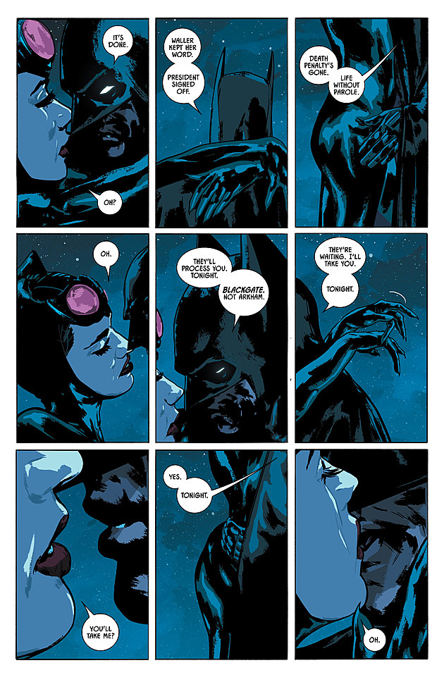 The Bat And The Cat Have A Chat In Batman 14 Preview