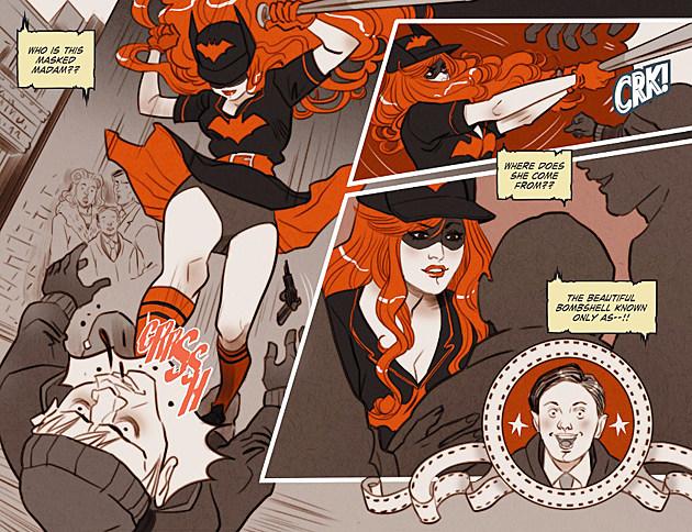 Art by Marguerite Sauvage (DC Comics)