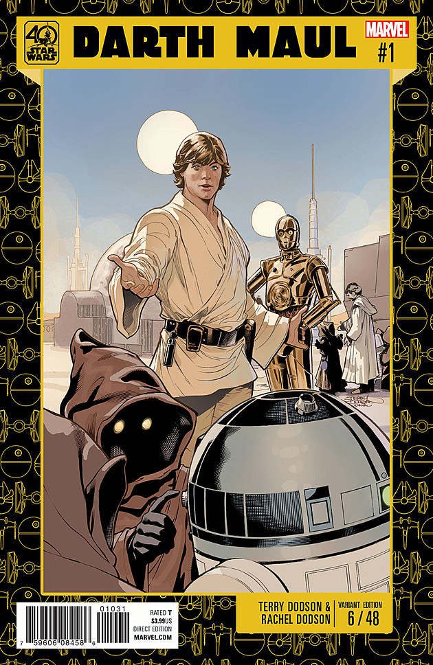 Star Wars 40th Anniversary Variant by Terry Dobson
