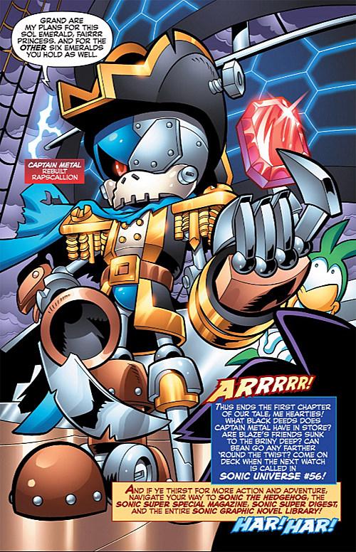 Sonic Universe #55, Archie Comics