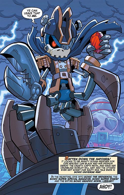 Sonic Universe #57, Archie Comics