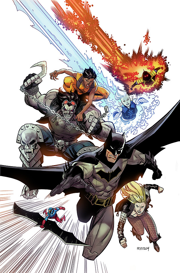 Variant Cover by Ryan Ottley