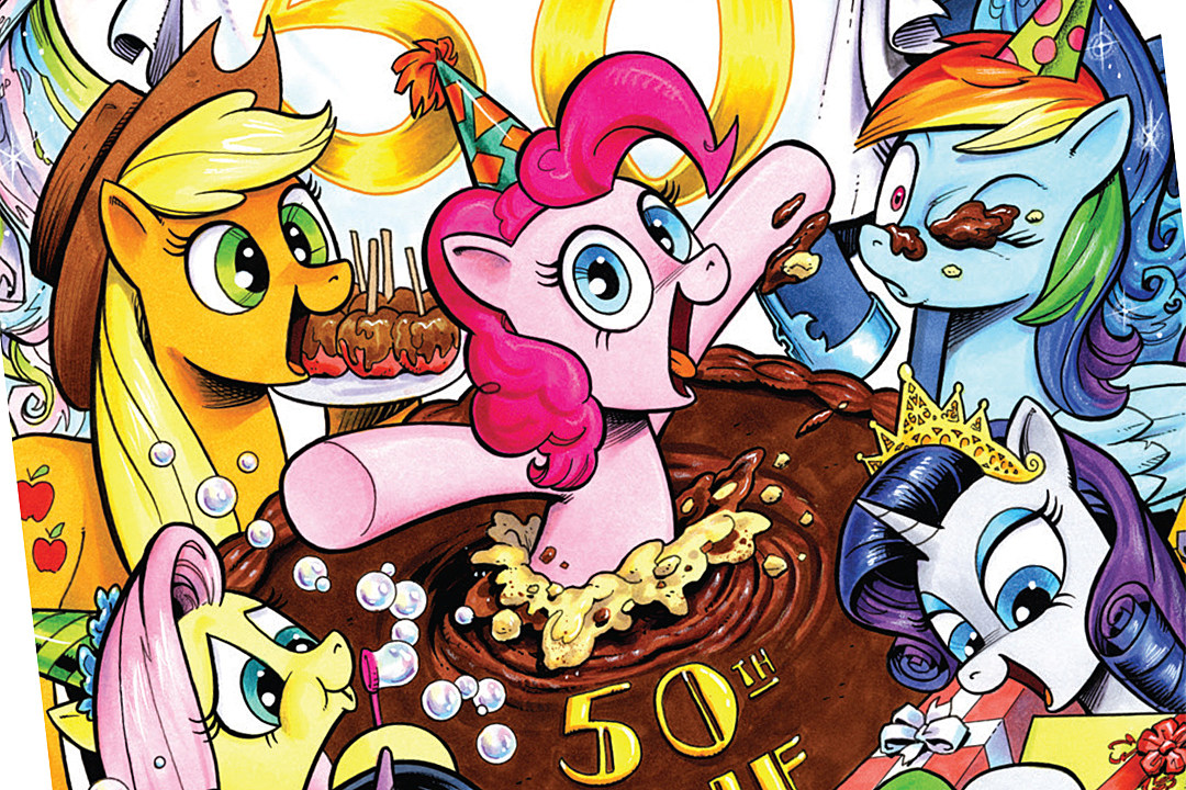 'My Little Pony: Friendship Is Magic' Celebrates 50 Issues With The Collapse Of Pony Government And The Rise Of All-Consuming Authoritarianism [Exclusive Preview]