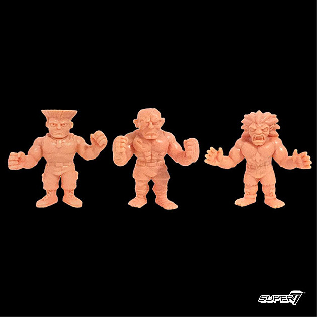 Street Fighter II MUSCLE figures by Super 7