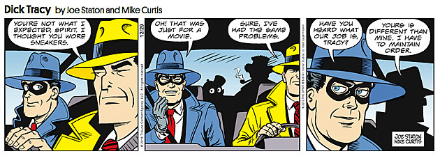 Dick Tracy, by Joe Staton and Mike Curtis