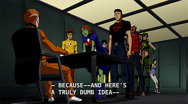 Young Justice Episode 15: Humanity