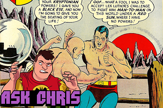 Ask Chris #327, background art by Curt Swan