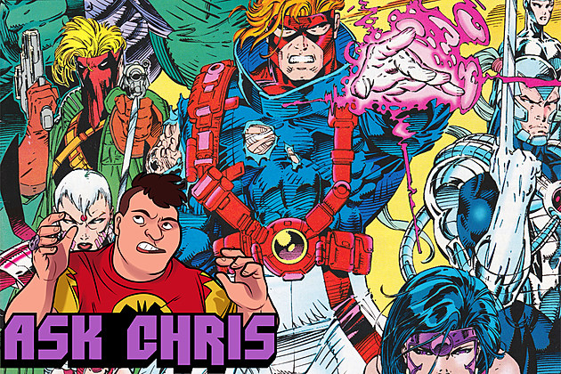Ask Chris #328, background art by Jim Lee