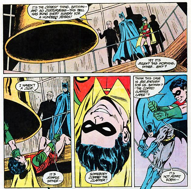 Batman #412, DC Comics