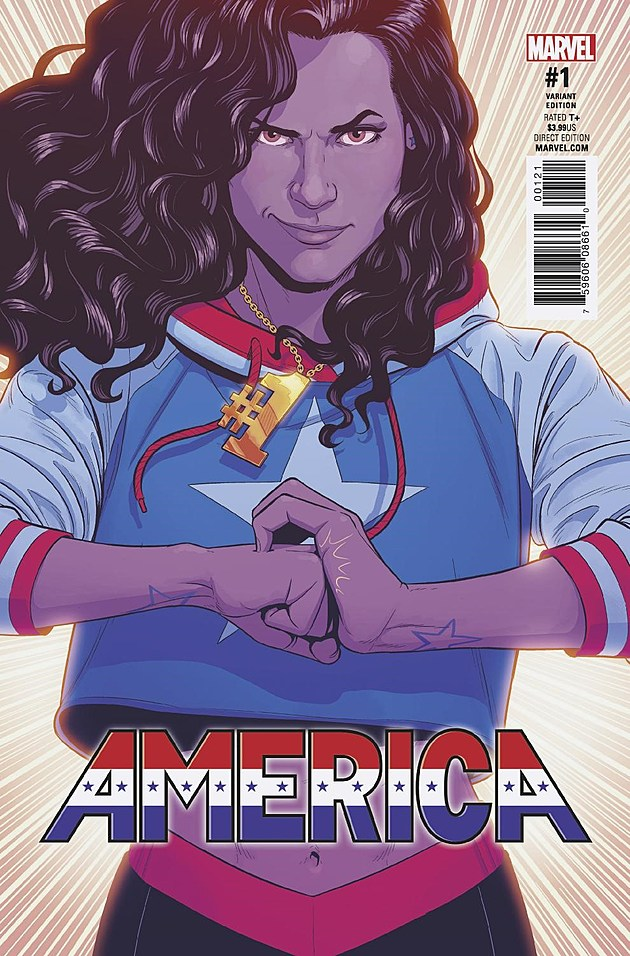 Variant Cover by Jamie McKelvie (Marvel)