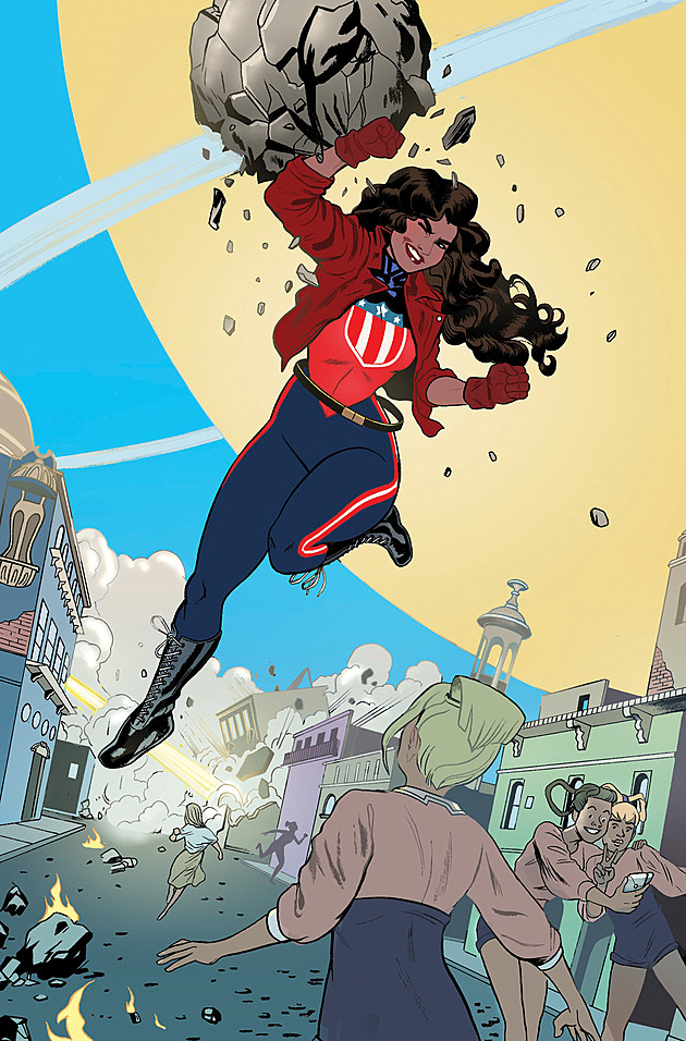 Art by Joe Quinones (Marvel)