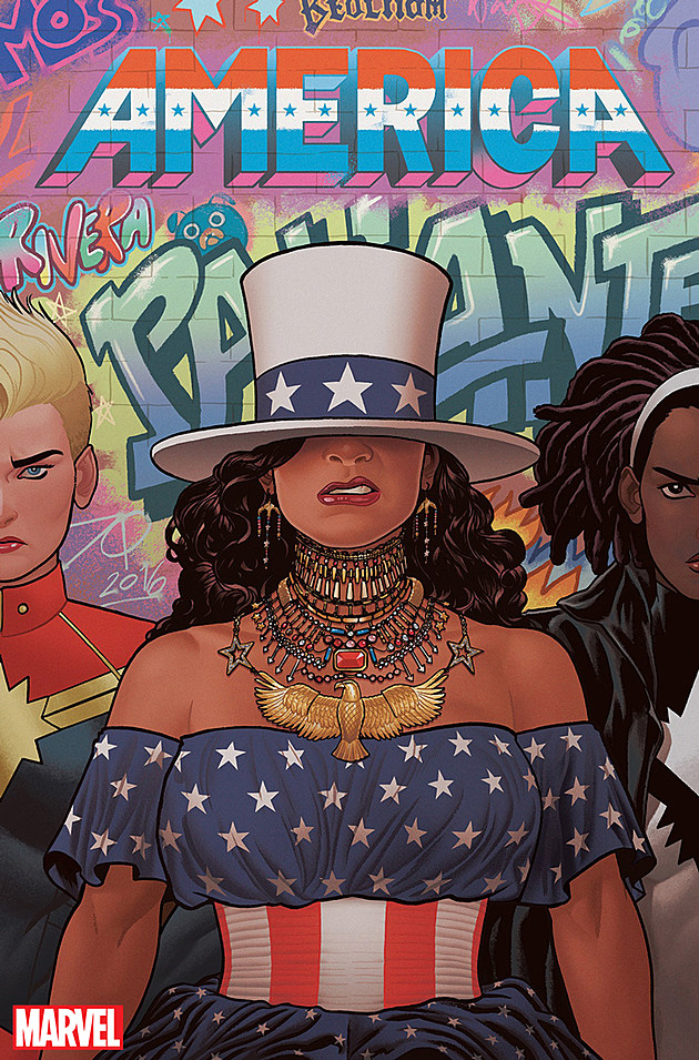 'America' #2 Cover by Joe Quinones (Marvel)