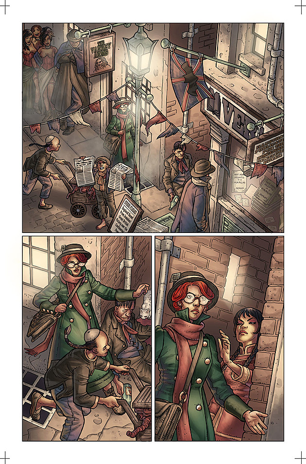 Anno Dracula #1, Titan Comics