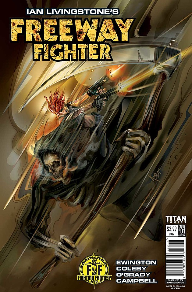Ian Livingstone's Freeway Fighter #1, Titan Comics