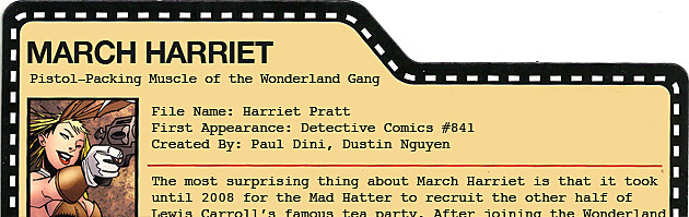 Filecard: March Harriet