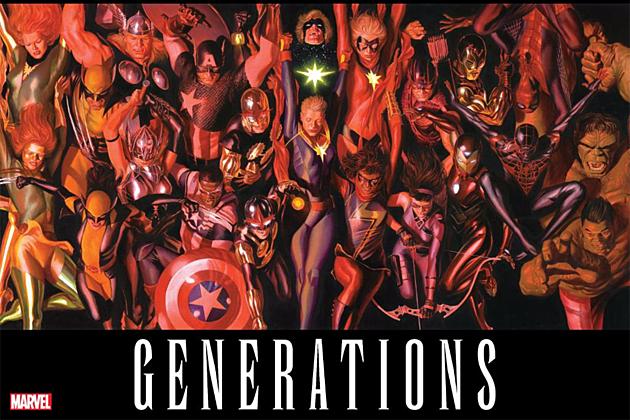 Marvel Comics Teases Generations For Summer 2017